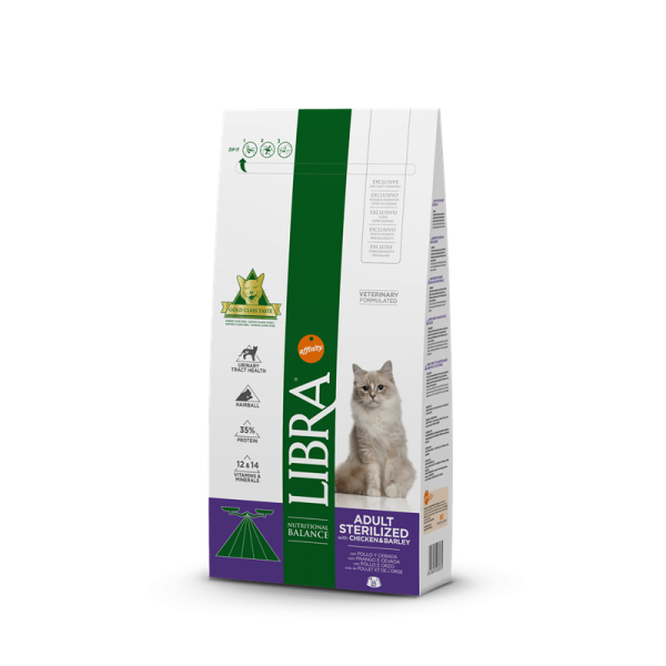 Libra Gato Adulto Esterilizado Frango 15 kg