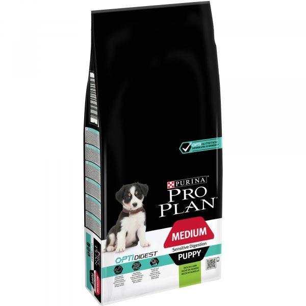 Pro Plan dog Medium Puppy Sensitive Digestion Lamb