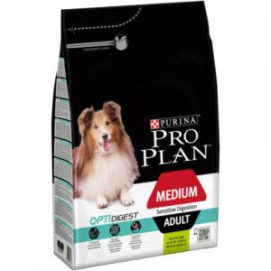 Pro Plan Dog Medium Adult Sensitive Digestion Lamb