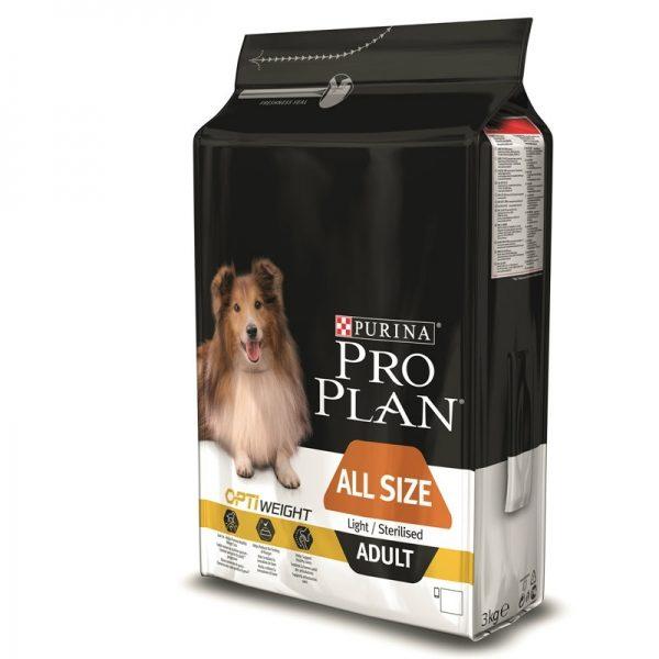Pro Plan Dog All Size Adult Light/Sterilised