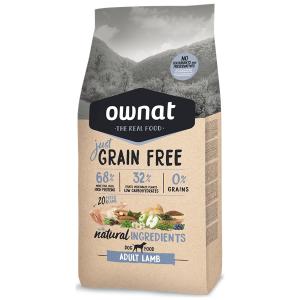 Ownat Just Grain Free Cão Adulto Borrego