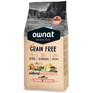 Ownat Just Grain Free Cão Adulto Salmão