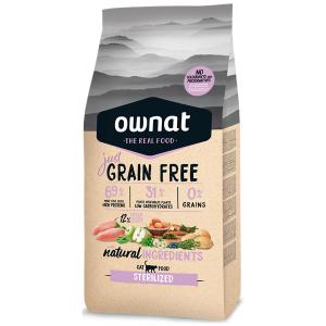 Ownat Just Grain Free Gato Esterilizado
