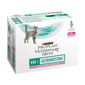 Purina PVD Feline EN Gastrointestinal Salmão Wet 10*85 g