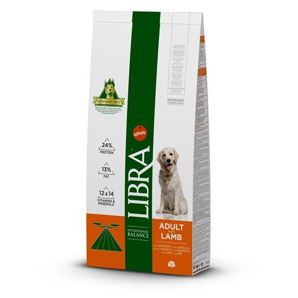 Libra Cão adulto Borrego 15 kg