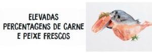 Ownat Elevada percentagem Carne e peixe fresco