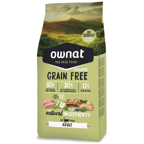 Ownat Grain Free Prime Gato Adulto Frango