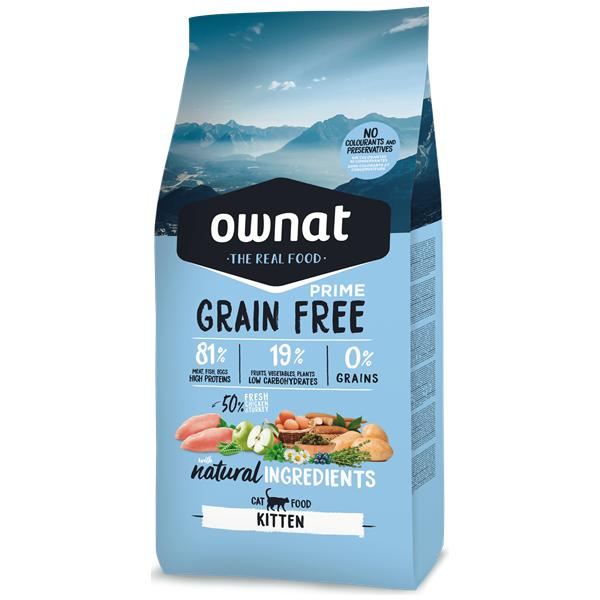 Ownat Grain Free Prime Kitten