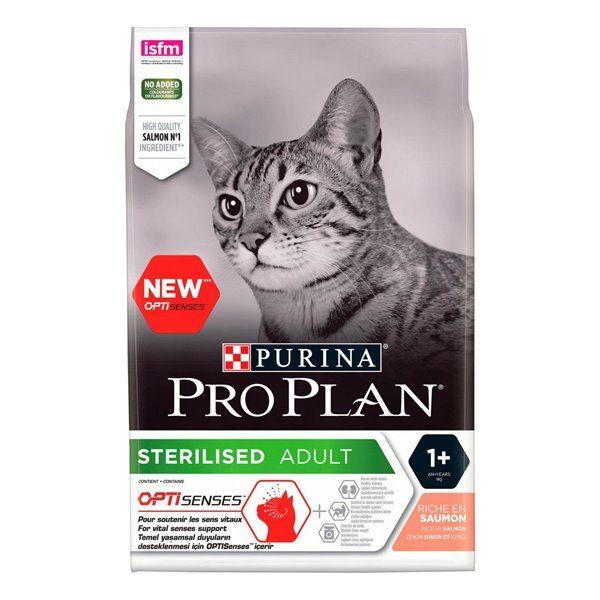Pro Plan Cat sterilised Salmão Optisenses