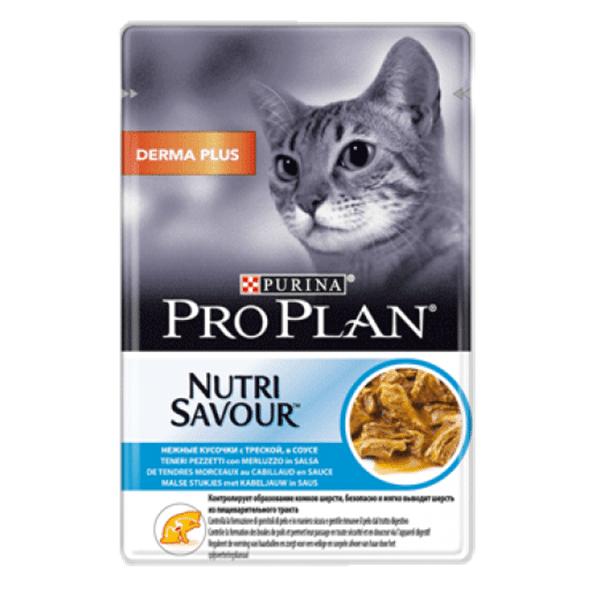Pro Plan Nutrisavour Elegant Bacalhau (Molho) 85g