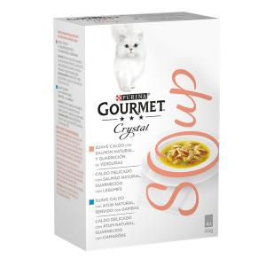 Purina Gourmet Nature´s Creations Soup Salmao