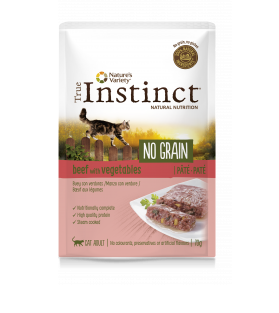 True Instinct Patê NO GRAIN Carne de Vaca com legumes