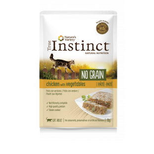 True Instinct Patê NO GRAIN Frango com legumes