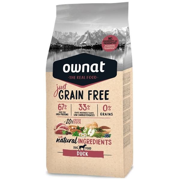Ownat Just Grain Free Cão Pato