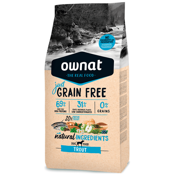 Ownat Just Grain Free Cão AdultoTruta